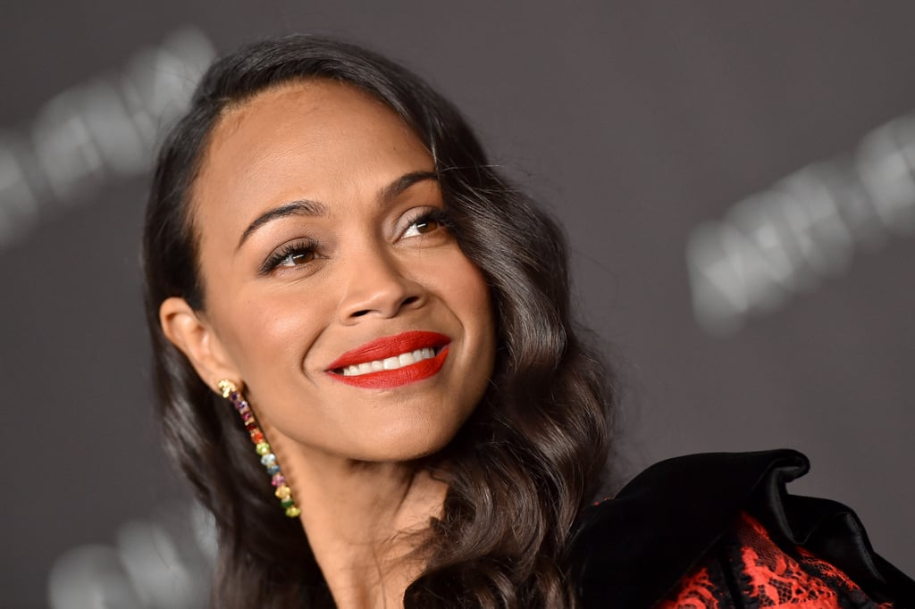 Zoe Saldana at LACMA Art + Film Gala presented by Gucci