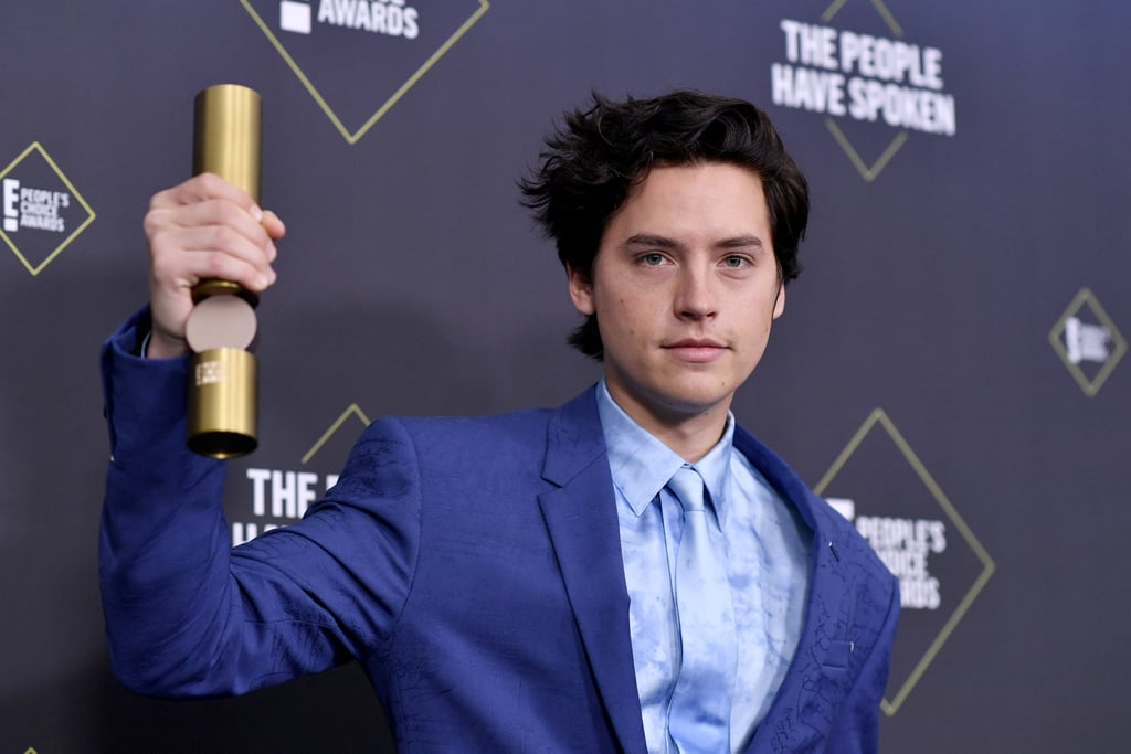 Cole Sprouse at the 2019 E! People's Choice Awards