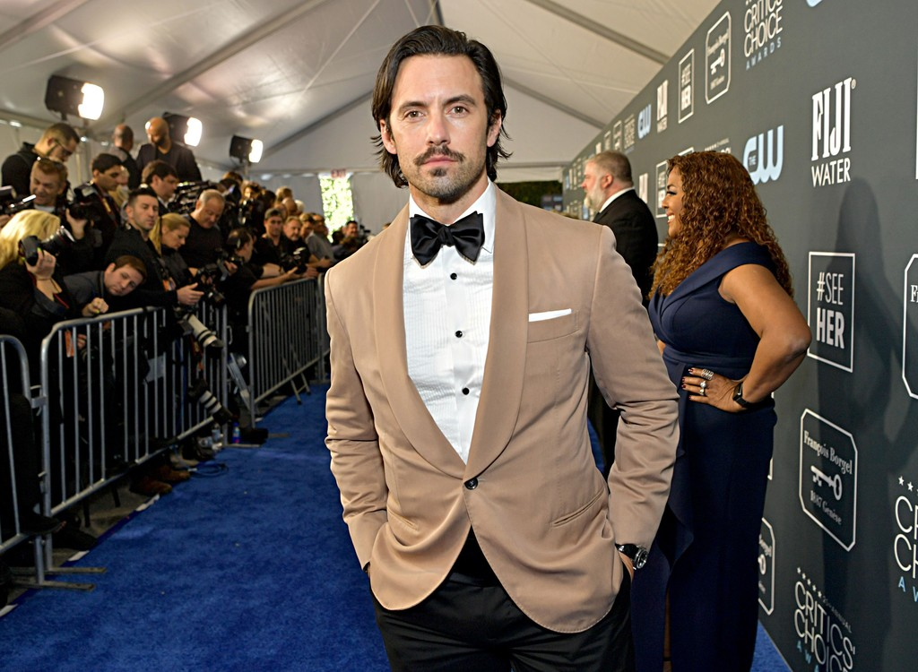 Milo Ventimiglia at the Critics' Choice Awards 2020