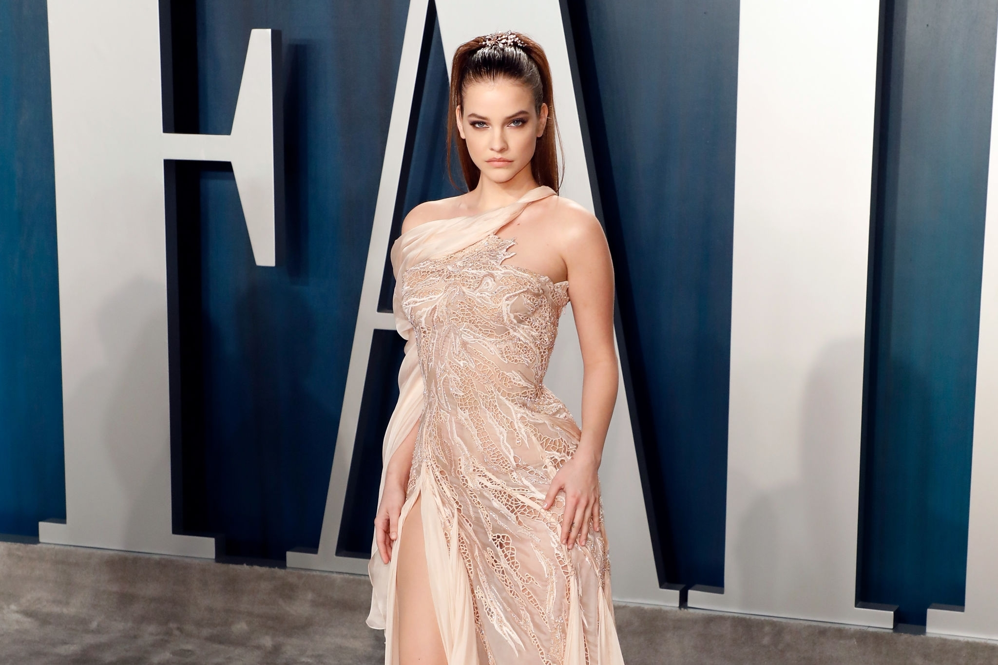 Barbara Palvin At Vanity Fair Oscar After Party 2020 Stylectory