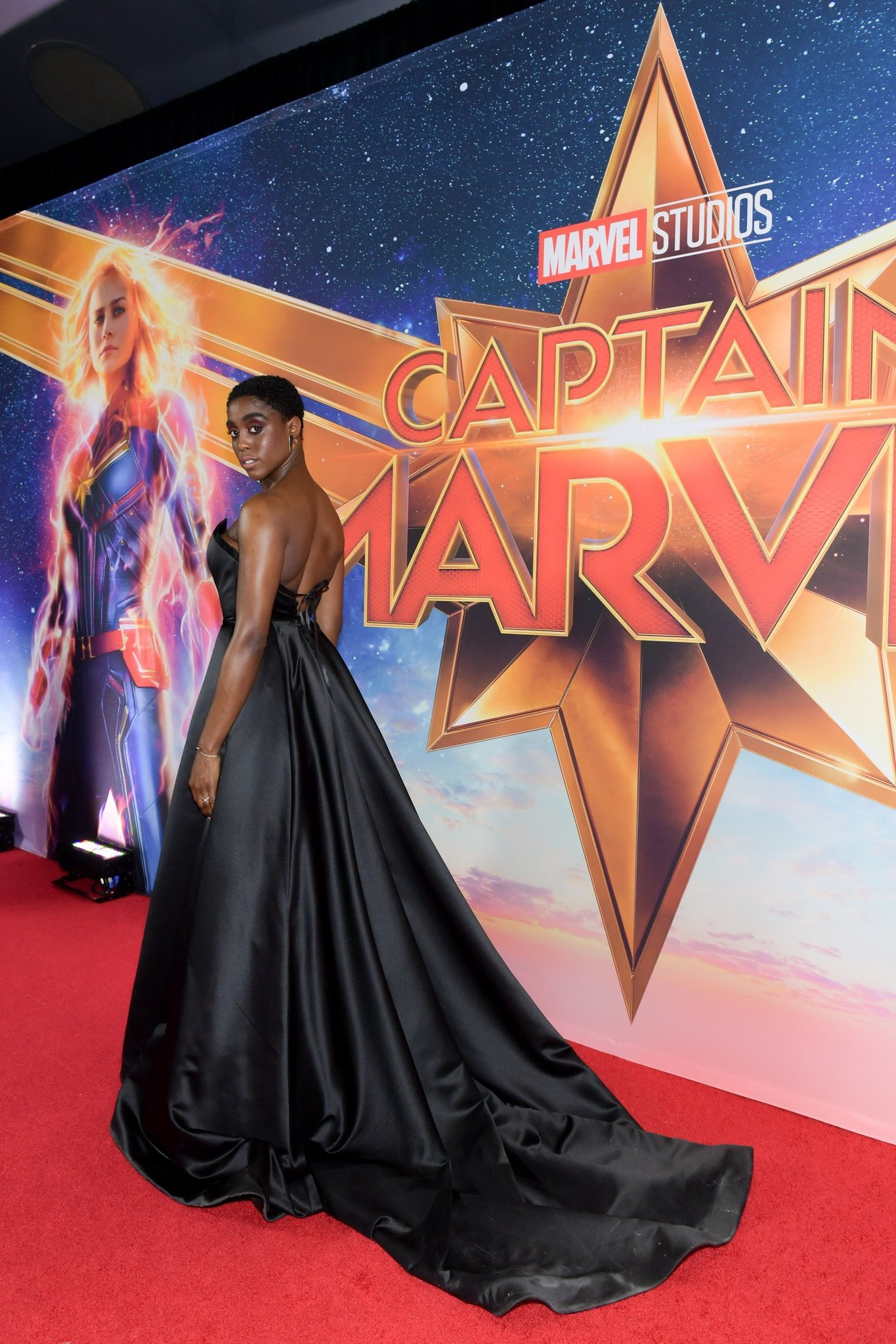 "Lashana Lynch at ""Captain Marvel"" Canadian Premiere – Toronto"