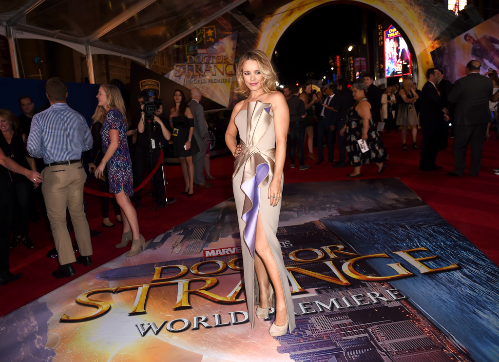 "Rachel McAdams at ""Doctor Strange"" Premiere – Hollywood"