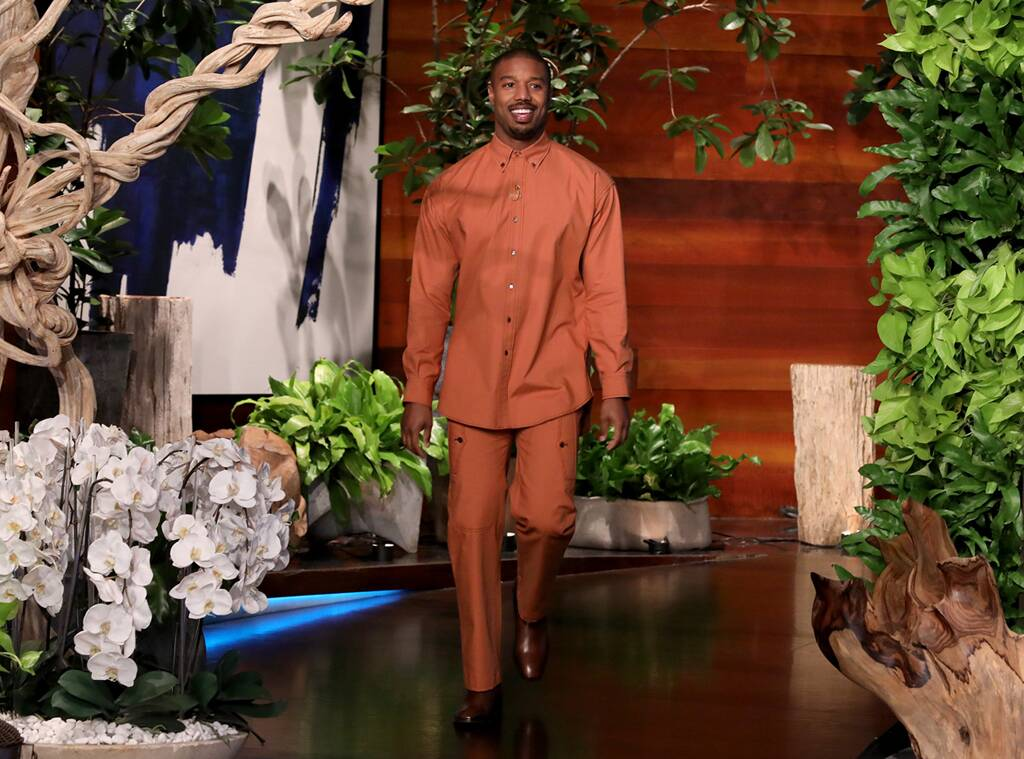 Michael B. Jordan at The Ellen De Generes Show – 08.01.2020