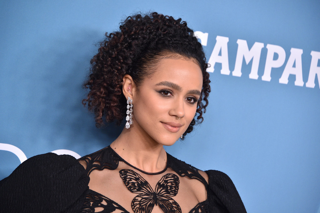 Nathalie Emmanuel at the Costume Designers Guild Awards 2020