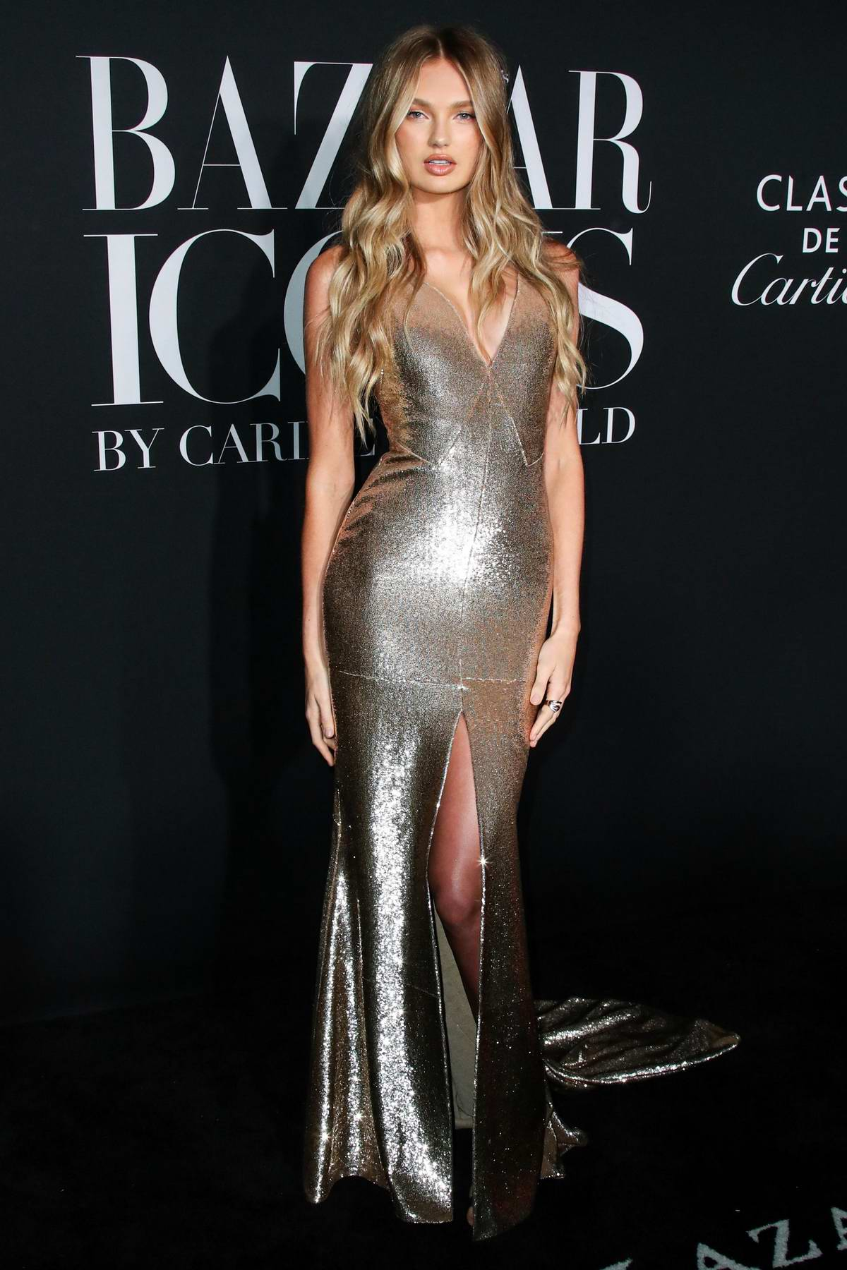 Romee Strijd at the Harper's Bazaar ICONS Party 2019