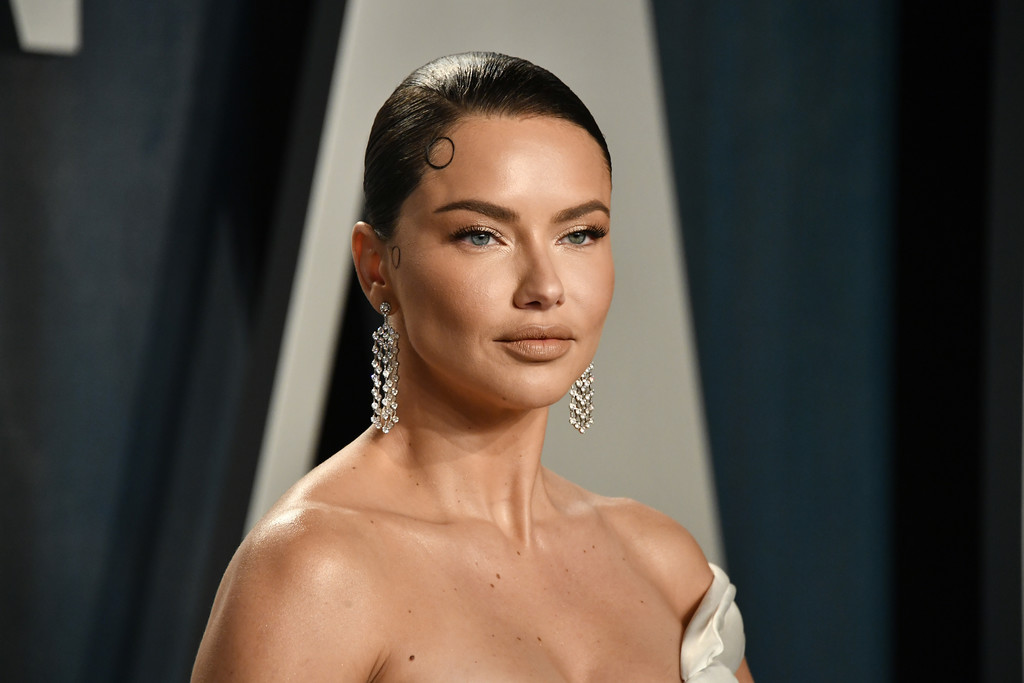 Adriana Lima at Vanity Fair Oscar After Party 2020