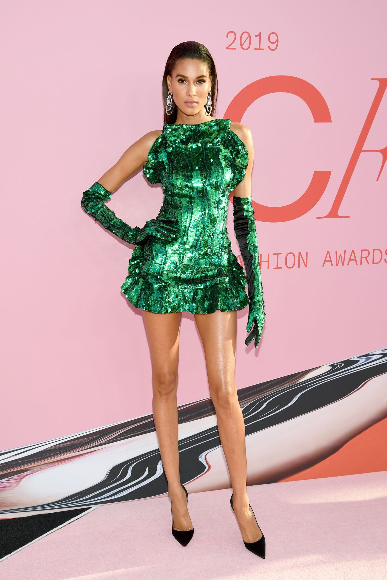 Cindy Bruna at CFDA Fashion Awards 2019 – NYC