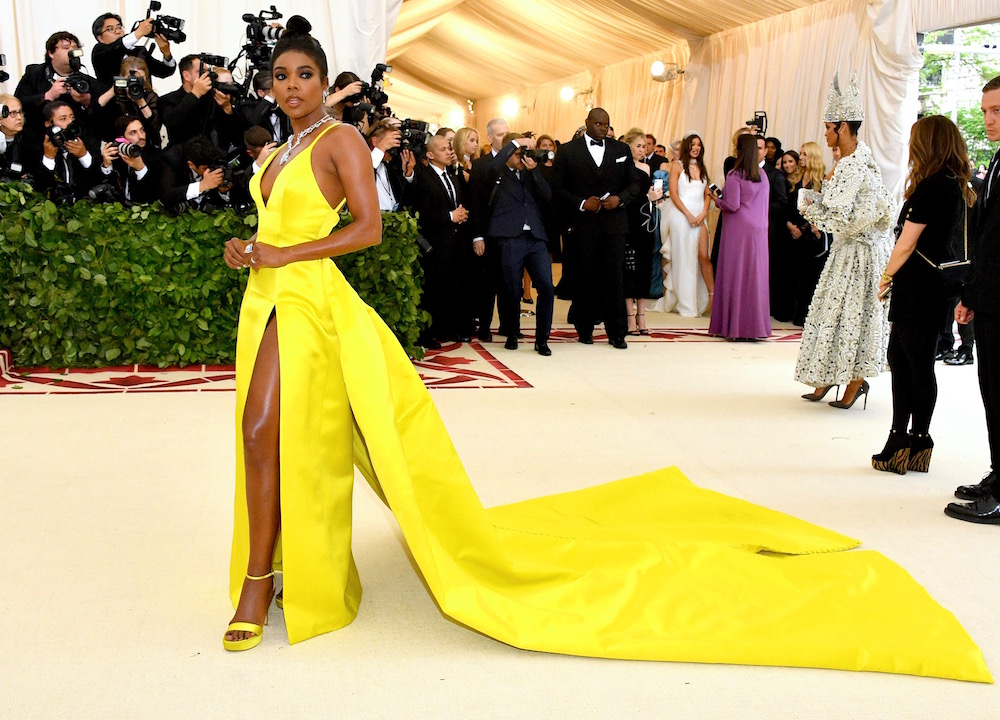 Gabrielle Union at MET Gala 2018