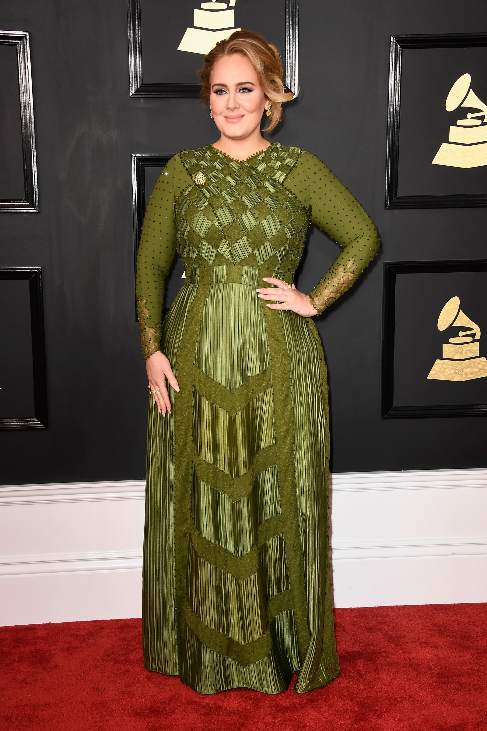 Adele at Grammy Awards 2017