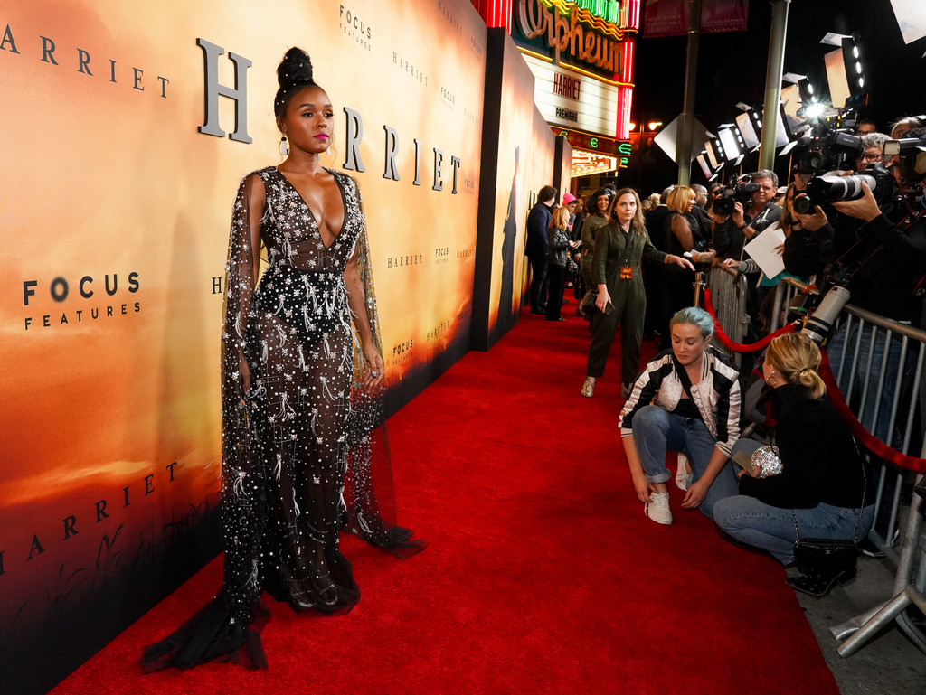 "Janelle Monáe at ""Harriet"" Premiere – Los Angeles"