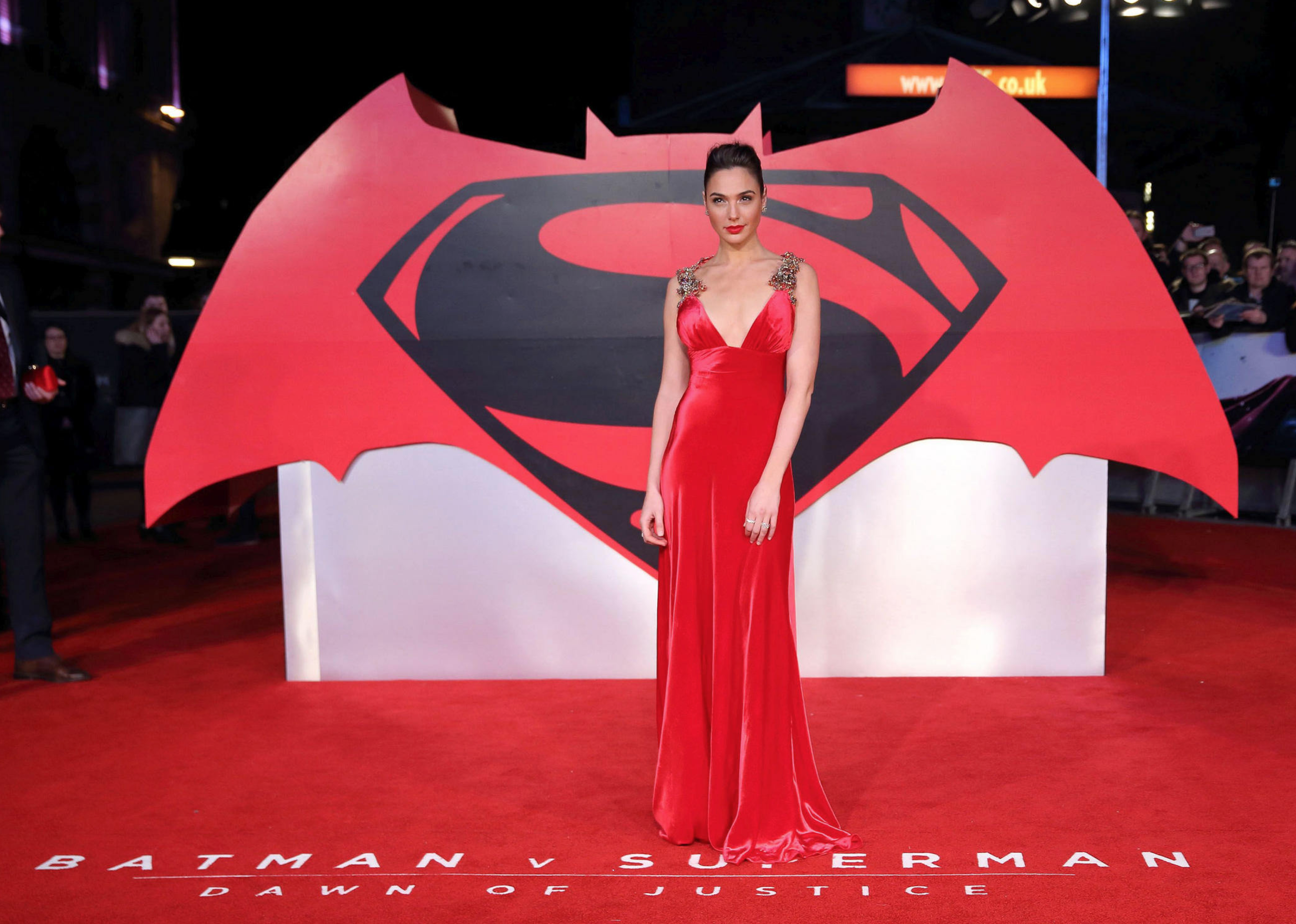 "Gal Gadot at ""Batman V Superman: Dawn Of Justice"" Premiere – London"