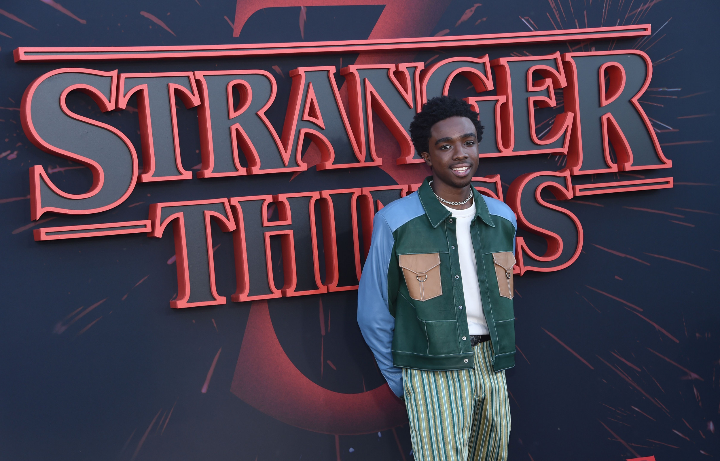 "Caleb McLaughlin at ""Stranger Things"" Season 3 Premiere – Santa Monica"