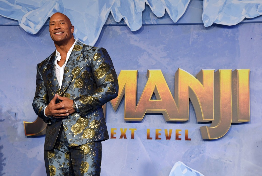"Dwayne Johnson at ""Jumanji: The Next Level"" Premiere – Hollywood"